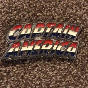 Marvel Captain America belt buckle